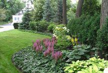 Secret garden landscape ideas / Garden ideas, shade gardens, English gardens,