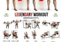 Мышцы всего тела.