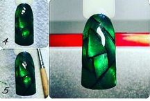 glass and mirror magnetic nails