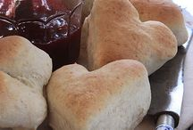 biscuits, rolls, and bread