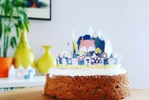 Kid's Cake Toppers / Printable DIY Kid's Birthday Cake Toppers and Cake Decoration