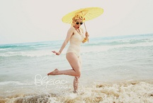 PinUp style at sea / miss Roxy Rose @sea Roxy Rose is a pin up girl and a burlesque performer. follow her @ www.roxyrose.it