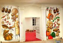 Fresque interieur