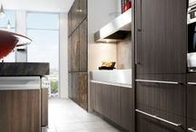Expressions Kitchen & Closet Remodel | Showcase Kitchens & Baths / Kitchen and Closet Remodel using stainless steel cook countertops, Benjamin Moore wall coverings, Wolf, and SubZero appliances!