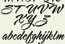 Typo lettering