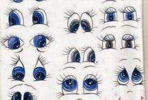 modelos de olhos