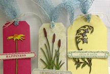 UmWowStudio Chipboard with May Arts Ribbon / Craft projects using chipboard embellishments and ribbon