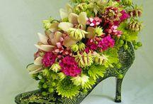 bloemwerk schoenen