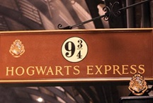 "Platform 9 3/4 / Lumos: ""And together they walked back through the gateway to the Muggle world."" Thank you JK Rowling for creating a world of magic where good defeats evil and good friends never really leave us. All things Harry Potter. Mischief managed, Nox. / by Donna Cox"