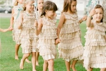 Flower Girls | Ring Bearers / From cute dresses, to the accessories and more. Everything for the cute Flower Girls in your wedding...and of course some dapper looking little guys in the mix too!