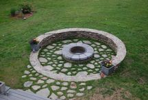 Montresor garden fire pit & barbecue / Outdoor fireplace