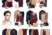 Цветовая лето гардероб