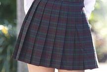 Japanese girls in pleated skirt 2