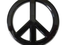 Peace Sign Car Emblem