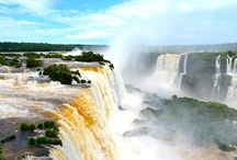 Insider's Travel to Iguassu or Iguazu Falls / If you love waterfalls, then you can't go past travel to Iguassu Falls (Iguazu Falls), the horseshoe shaped waterfall known for its picturesque views and unusual location in both Argentina and Brazil.