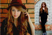 bluszcz / fashion hat long hair photography