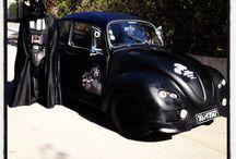 My Beetle - Darth Vader Car / Customisation de ma cox de 1969 en dark Vador Mobile #starwars #darkvador #darthvader #pimpmyride #classiccars