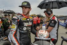 Aprilia WSBK 2015 - Laguna Seca / The American SBK weekend finished with a spectacular duel between the Aprilia Riders Jordi Torres and Leon Haslam.
