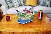 MANTLES SHELVES & TABLESCAPES / by Debbe Daley