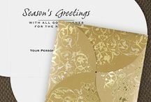 Custom Holiday Cards / Custom holiday cards sent to friends, family and associates provide the perfect opportunity to send a bit of your personality.  Add a photo to holiday cards for a more personal presentation.  Select from whimsical or wonderfully elegant cards in a myriad of colors and themes.