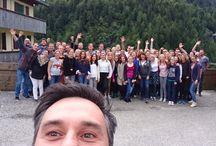 Happen and Winkle Summer Camp 2016 / Happen Group celebrating innovation in the Alps!