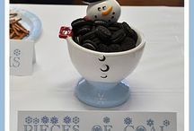 snowman themed party / by Dawn Hull