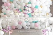Balloon Wall Decoration