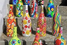 Riciclo Creativo del Vetro, Glass Creative Recycling / Riciclo Creativo, DIY, Vetro, EcoDesign, FaiDaTe