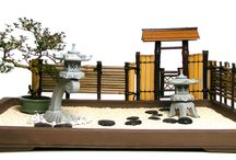 Japanese gardens & Zen / To explore the conscious effort of minimal and sophisticated aesthetics.