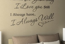Sentences I would like on a wall in my home