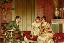 Frederic Souiacroix Paintings / Paintings of the Regency Era