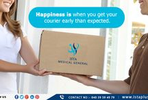 #Happiness is #when #you #get #your #courier #early #than #expected.
