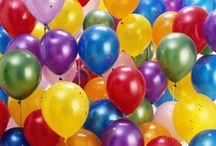 Ballonnen / Ballonnen hebben wij in alle soorten, maten en kleuren.