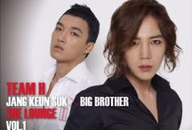 Team H / Another side of JKS, his musical collaboration with Big Brother.   Friends since Hanyang University days they have released albums and done concert tours across Asia.