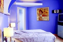 Blue & White Fusion  / Furniture/designs with blue and white