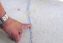 Repair concrete