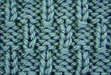 Knitting stitch / Desde Craftcookie / Francisca Arias Natho adlı kullanıcıdan