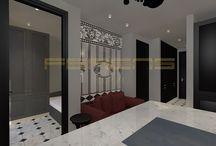 FERENS DESIGN / WARSZAWA / 32 mkw / architekt FERENS design joanna ferens - hofman warszawa wizualizacje