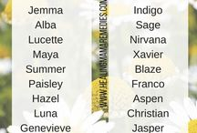 baby names ☺