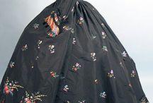 muotihistoria / historical costume