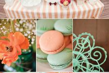 Baby shower - Peach & Mint / by A BLISSFUL NEST | ABLISSFULNEST.COM