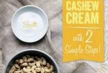 cashew creams