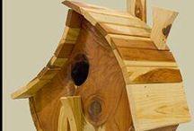 Bird houses,bird feeders