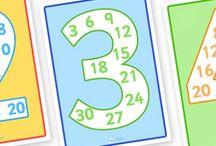 Sayılar / Sayı oluşturma, eşleştirme vb.