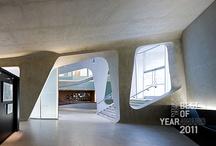 Exhibit / museum + gallery + installations