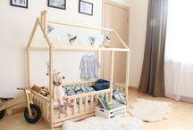 montessori bed/room