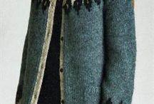 heklet/strikket klær