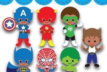 Cumpleaños Super Héroes