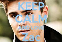 <3 Keep calm: Zac Efron <3 / Este tablero lo he creado para tener todos los Keep calms de Zac Efron :)