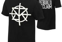 t-shirt WWE